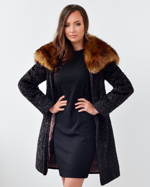"Faux Fur Coat ""Wild Touch"""