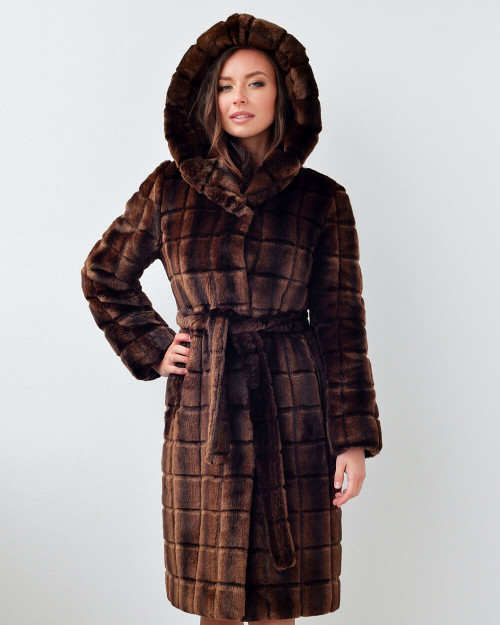 "Faux Fur Coat ""Keep It Trendy"""
