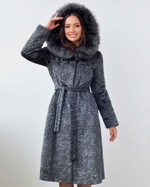 "Faux Fur Coat ""Extra Charming Vibes"""