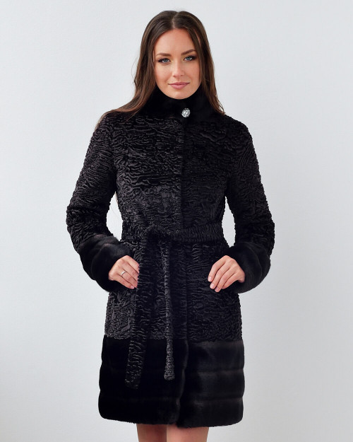 """Faux Fur Coat """"Statement Touch"""""""