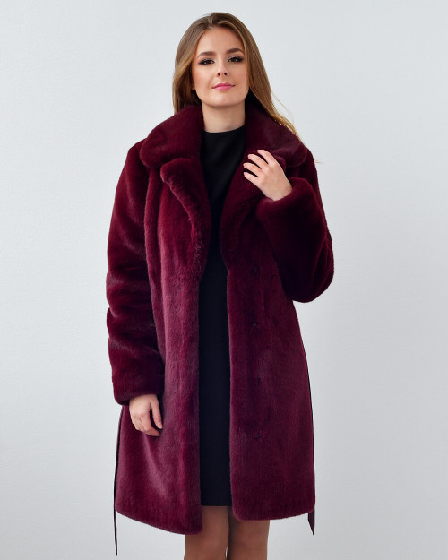 "Faux Fur Coat ""A Total Fashionista"""