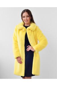 """Faux Fur Coat """"Make It More Colorful"""""""