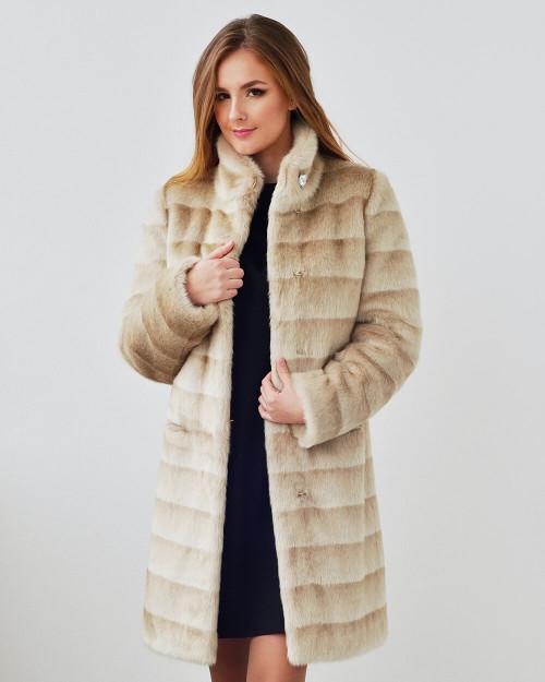 "Faux Fur Coat ""So Elegant"""