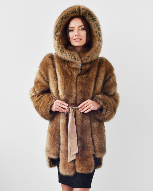 "Faux Fur Coat ""Extra Glam"""
