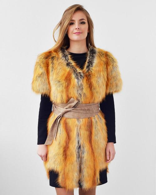 """Faux Fur Vest """"Total Showstopper"""""""