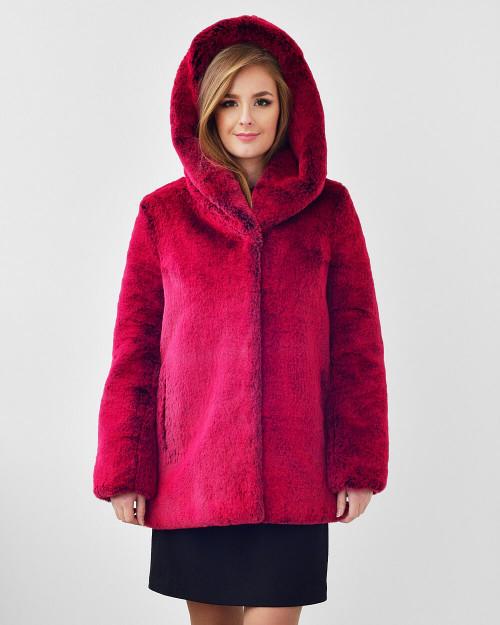 "Faux Fur Coat ""Grab the Attention"""