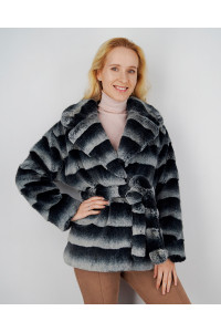 """Faux Fur Coat """"Super Chic"""""""