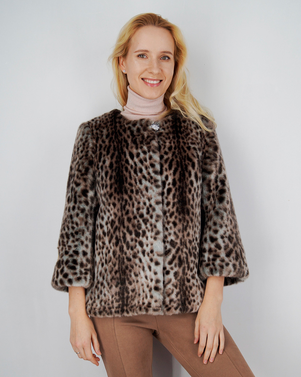 """Faux Fur Coat """"Wild Cat"""""""