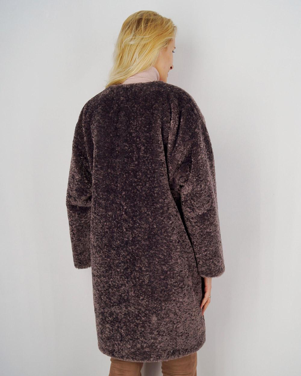 """Faux Fur Coat """"Retro Style"""""""