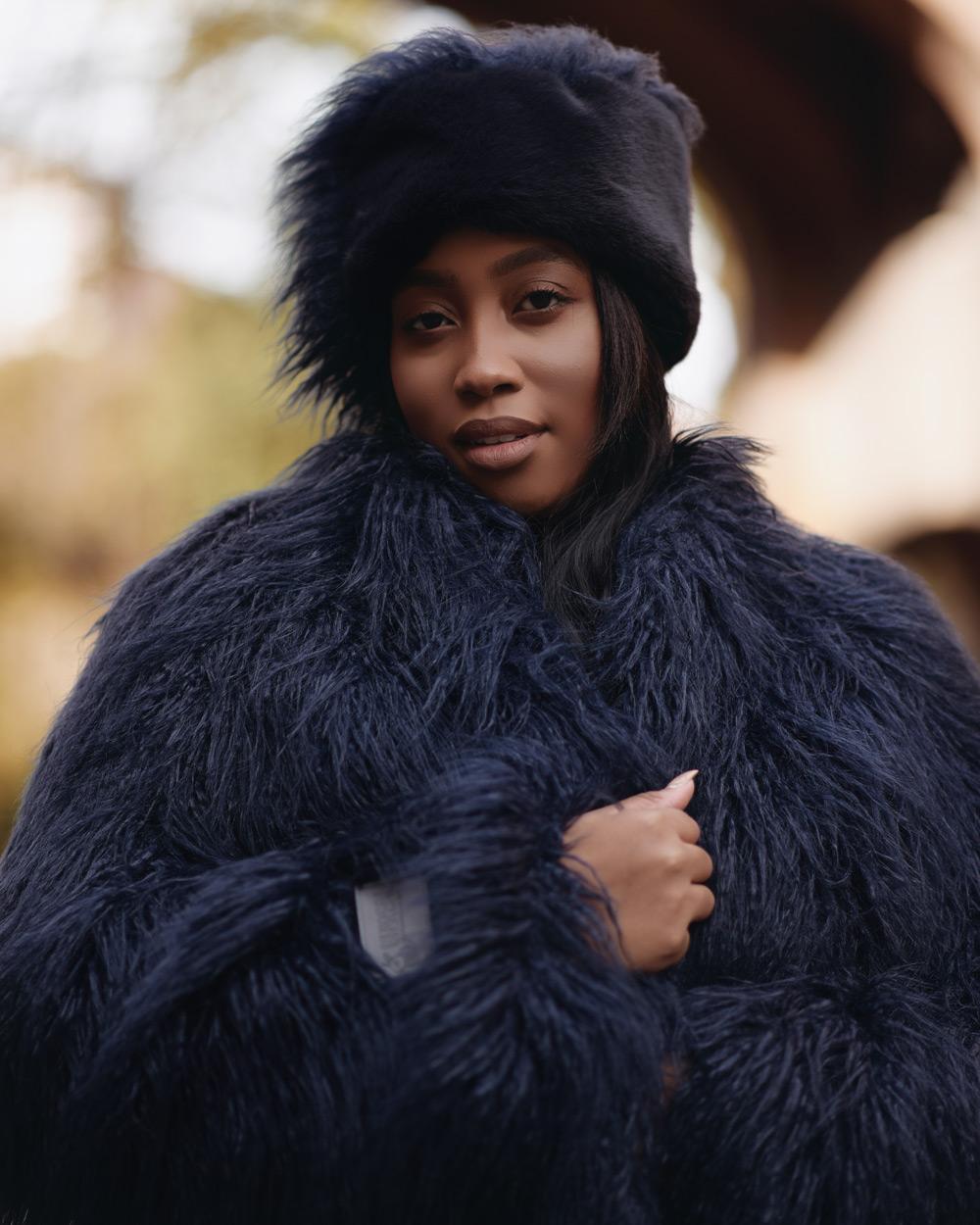 """Faux Fur Hat """"Glam it Up"""""""