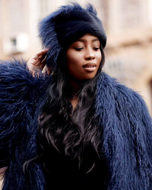 "Faux Fur Hat ""Glam it Up"""