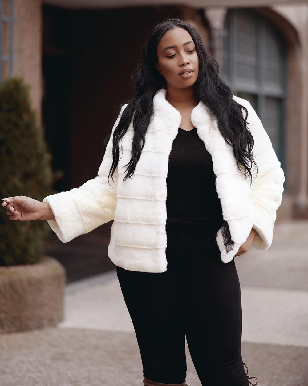 """Faux Fur Coat """"Queen"""""""