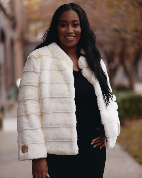 "Faux Fur Coat ""Queen"""