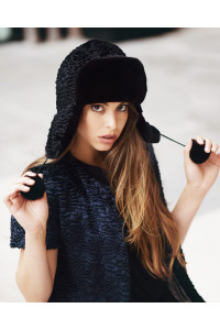 "Faux Fur Hat ""Ushanka"""