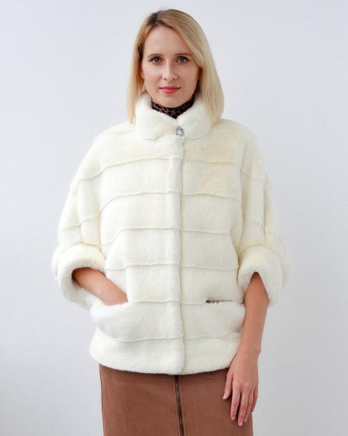 """Faux Fur Coat """"Amour"""""""