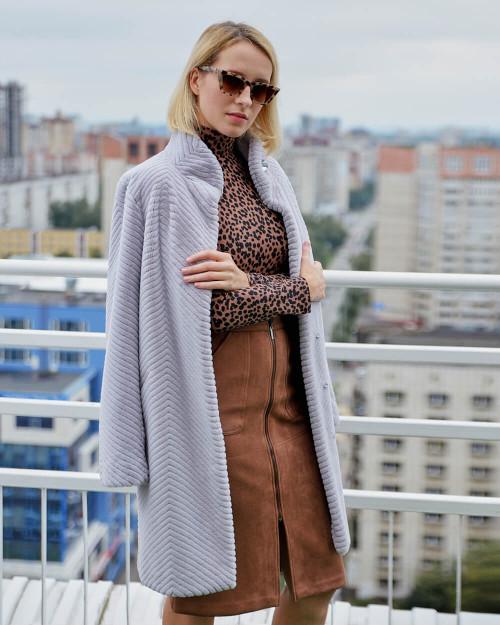 "Faux Fur Coat ""Simple Beauty"""