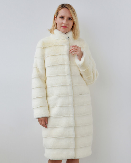 "Faux Fur Coat ""Sweet Melody"""