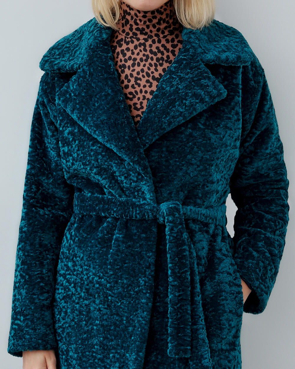 "Faux Fur Coat ""Esmeralda"""