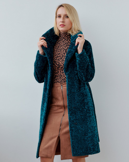 "Faux Fur Coat ""Esmeralda"""
