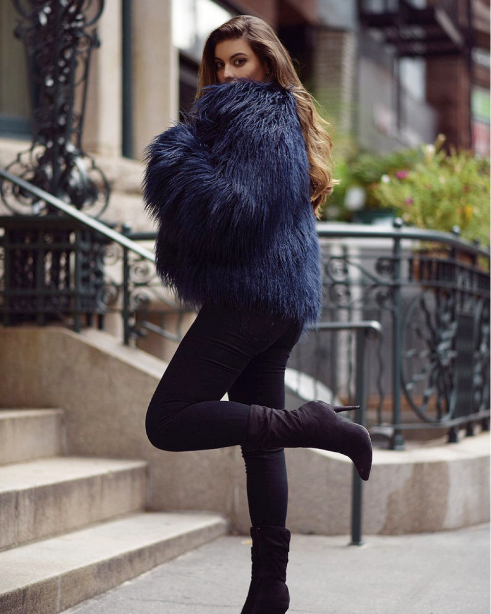 "Faux Fur Coat ""Glam it Up"""