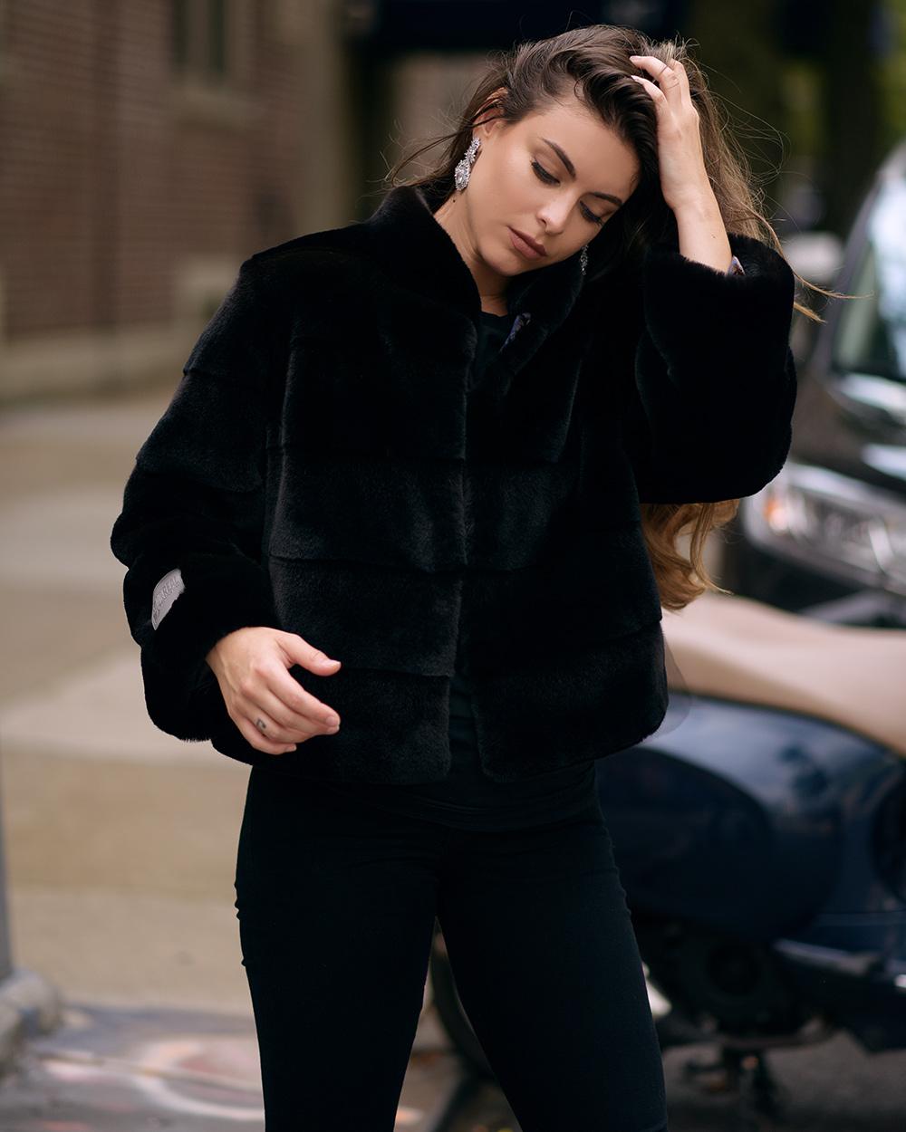 "Faux Fur Coat  ""Brooklyn"""