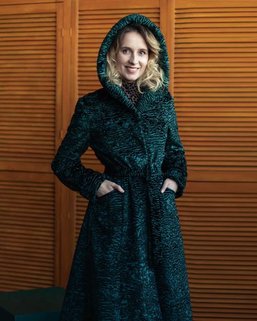"""Faux Fur Coat  """"Jungle"""""""