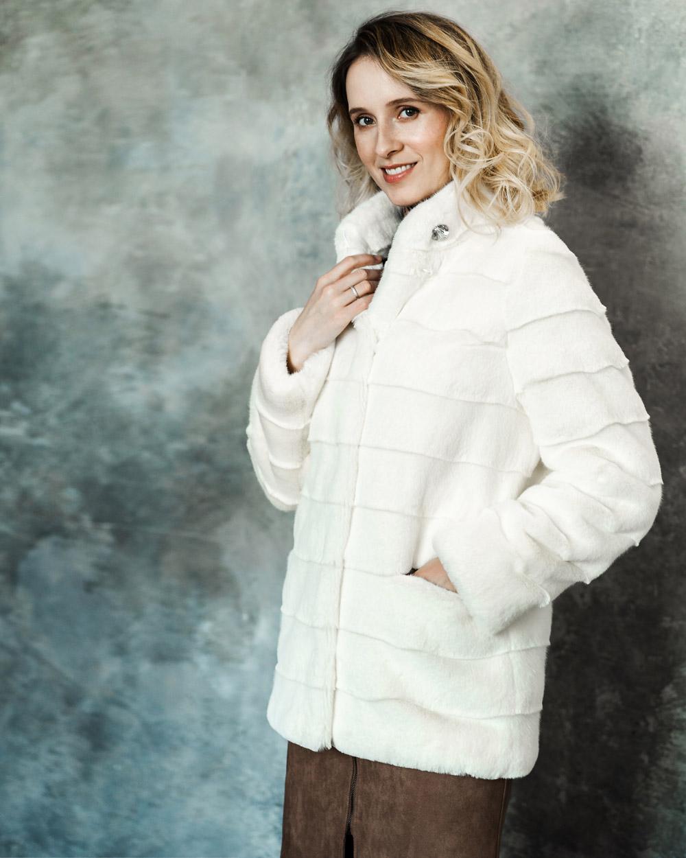"Faux Fur Coat ""Icy Glam"""