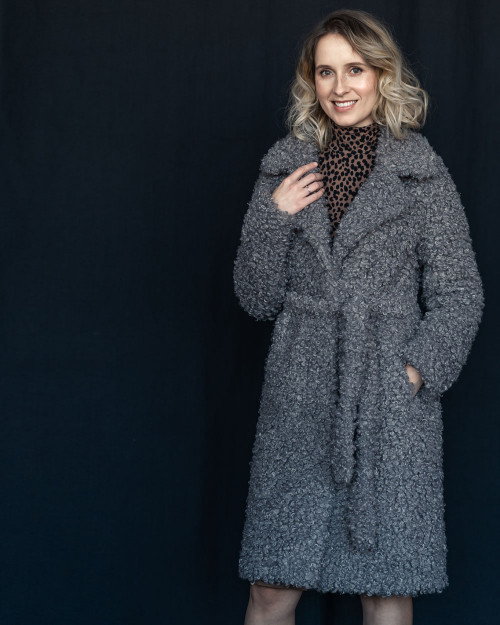 "Faux Fur Coat  ""Enchanting"""