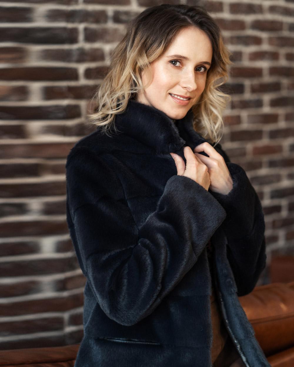 """Faux Fur Coat """"À la Mode"""""""
