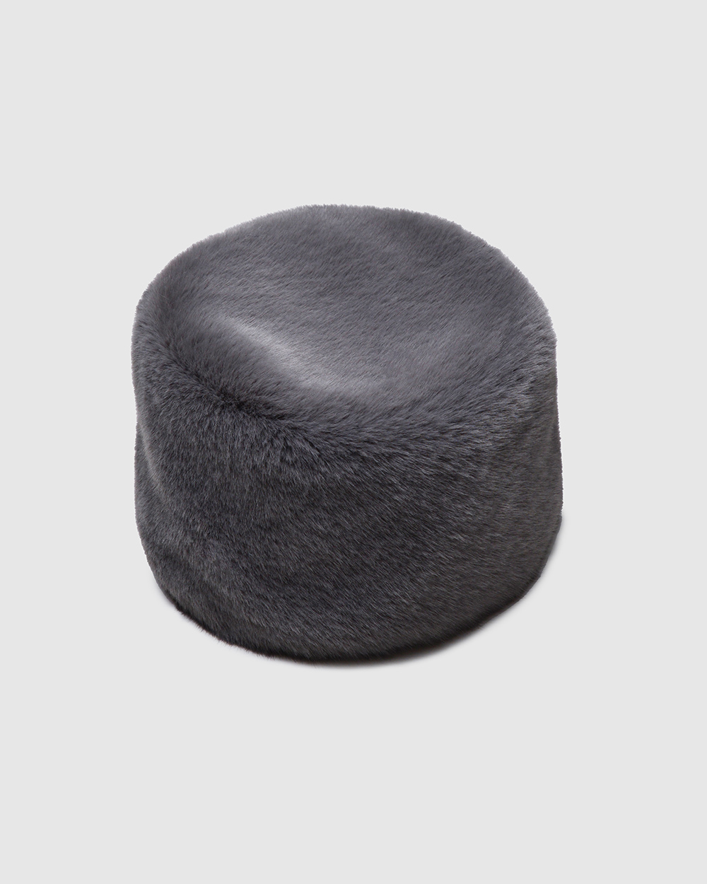 "Faux Fur Hat ""Dark Winter Charm"""
