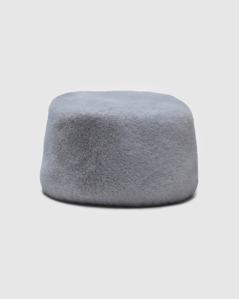 "Faux Fur Hat ""Light Winter Charm"""