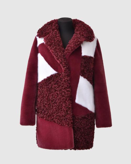 """Faux Fur Coat  """"The Eccentric Me"""""""