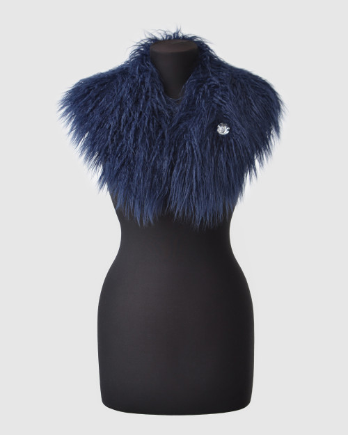 "Faux Fur Collar ""Glam It Up"""