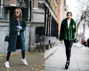 What Shoes to Wear with Faux Fur Coats