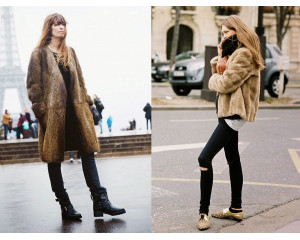 Different Ways to Wear Faux Fur Coats