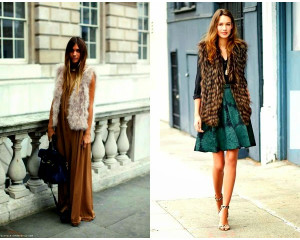 Best Ideas on What to Wear with a Faux Fur Vest
